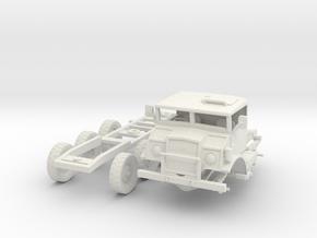 Chevrolet CMP C15 Log Jinker(1:18 Scale) in White Natural Versatile Plastic