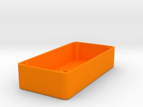 1590G Squared Design (No Lean) in Orange Processed Versatile Plastic