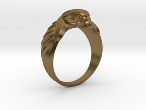 Eagle Ring 19mm in Natural Bronze