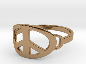 My Awesome Ring Design Ring Size 8 in Polished Brass