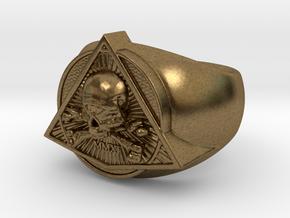 Saint Vitus Ring Size 5 in Natural Bronze