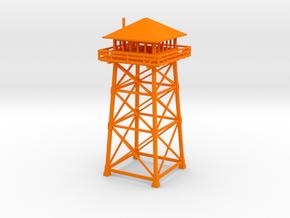 Firewatch Lookout Tower 10cm in Orange Processed Versatile Plastic