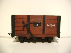 FR Wagon No. 118 5.5mm Scale in Frosted Ultra Detail