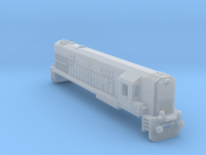 1/160 WDM2 INDIAN LOCOMOTIVE in Smooth Fine Detail Plastic