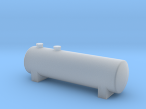N Scale Fuel Storage Tank in Smooth Fine Detail Plastic