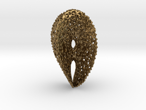 Chen-Gackstater Surface with Voronoi Texture in Raw Bronze