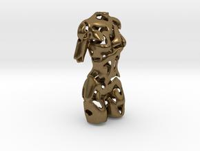 Woman Torso  in Natural Bronze
