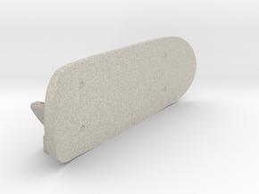 Cup-noodle lid holder in Natural Sandstone