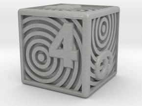 Numbered Dice, Ring Design in Aluminum