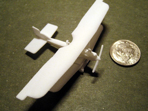 Junkers J.I in White Strong & Flexible: 1:200
