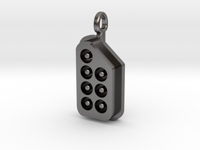 NES His Controller Pendant in Polished Nickel Steel
