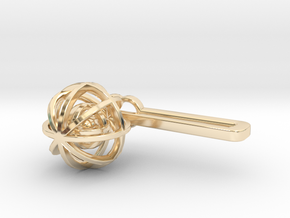Ball In Balls TP in 14K Yellow Gold