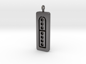 SNES His Controller Pendant in Polished Nickel Steel