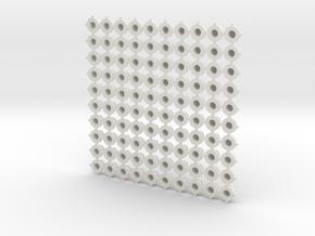 Bearing 3mm in White Natural Versatile Plastic