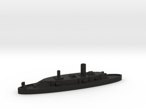 1/600 CSS North Carolina in Black Natural Versatile Plastic