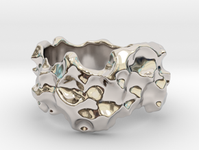 ELPIS Bracelet in Rhodium Plated Brass