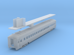 D&H lightweight coach #201 - 206, as built (1/160) in Smooth Fine Detail Plastic