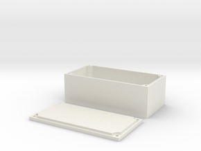 Waterproof box for Axial wraith in White Natural Versatile Plastic