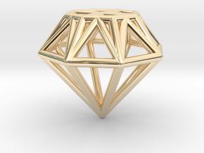 Diamond pendant   necklace   bracelet in 14K Yellow Gold