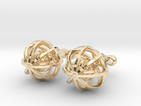 Ball In Balls CL X2 in 14K Yellow Gold
