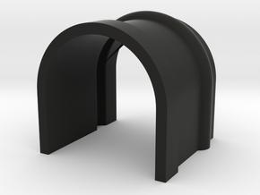 Kg13 Button Cover in Black Natural Versatile Plastic