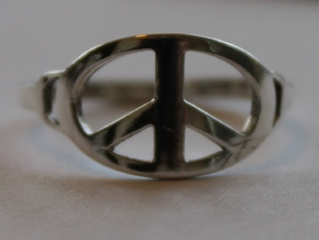 My Awesome Ring Design Ring Size 8 in Polished Silver