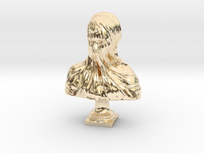 Veiled Head in 14K Gold