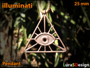 Illuminati Pendant in Stainless Steel