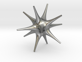 Star in Natural Silver