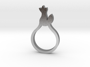 BEAU Ring in Natural Silver