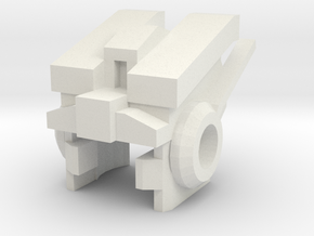 Robohelmet: Jungian-bot in White Natural Versatile Plastic