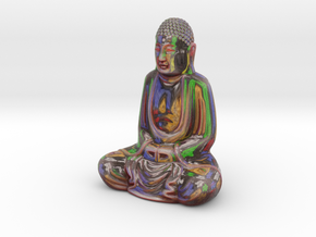 Textured Buddha: paint studio in Full Color Sandstone