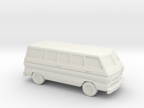 1/87 1964-70  Dodge A 100  in White Natural Versatile Plastic