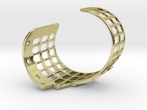 COLOSSEUM BRACELET ORIGINAL (Cut Through) Small in 18k Gold Plated
