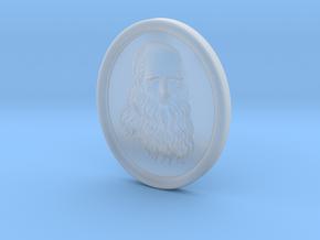 Leonardo da Vinci. 15cm in Smooth Fine Detail Plastic
