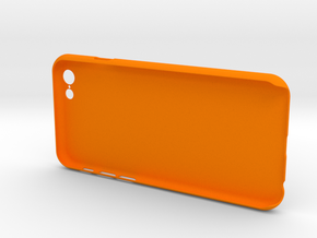 Simple 3 walls iPhone6 case for 4.7inch in Orange Strong & Flexible Polished