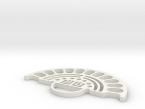 Mandruleto in White Natural Versatile Plastic