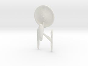 """Enterprise-A 4"""" in White Strong & Flexible"""