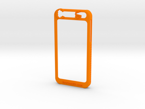 IPhone 6  in Orange Processed Versatile Plastic
