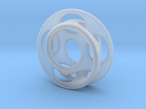 10 holes - interlocked moebius in Smooth Fine Detail Plastic