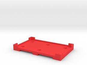 DA Ignition Mount in Red Processed Versatile Plastic