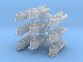 BFG Patrol Torpedo Boat Squadron (x3) in Smooth Fine Detail Plastic