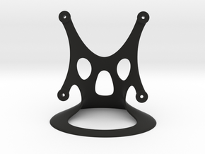 Fan Stand, 80mm, Designed by Hein in Black Natural Versatile Plastic