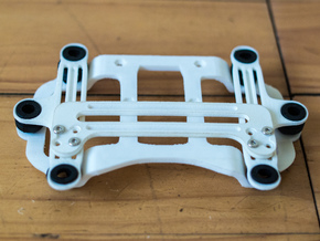 DJI Phantom 2 Universal Camera Mount in White Strong & Flexible