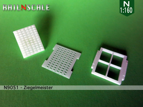 Ziegelmeister (N 1:160) in Smooth Fine Detail Plastic