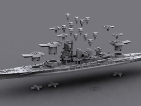 1/1800 IT BB Littorio[1942] in White Strong & Flexible