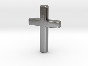 Cross Cube 35-25-5 in Natural Silver