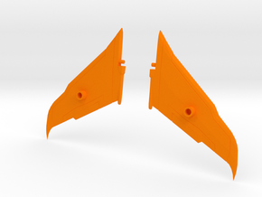 Transformers Seeker Rapier Wing Kit in Orange Strong & Flexible Polished