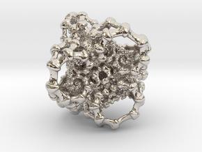 Kaleidoscopic Roots Pendant in Platinum