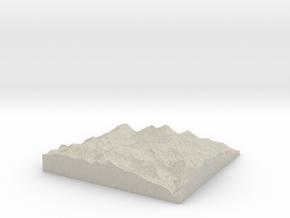 Model of Schafniese in Sandstone